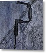 Antique Hand Drill Metal Print