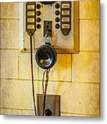Antique Intercom Metal Print