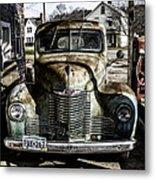 Antique International Pickup Truck Metal Print by Dick Wood