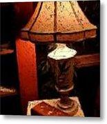 Antique Lamp Metal Print