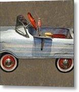 Antique Pedal Car Lv Metal Print