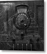 Antique Philco Radio Model 37 116 Bw Merge Metal Print
