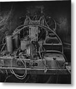 Antique Philco Radio Model 37 116 Bw Metal Print
