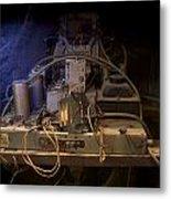 Antique Philco Radio Model 37 116 Metal Print