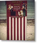 Antique Punch And Judy Metal Print