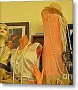 Antique Shop Display Metal Print