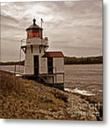 Antique Squirrel Point Metal Print by Skip Willits