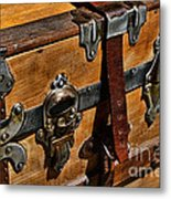 Antique Steamer Truck Detail Metal Print