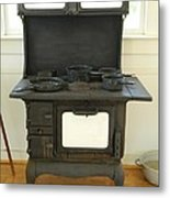 Antique Stove Number 2 Metal Print