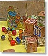 Antique Toys Metal Print