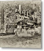 Antique Train Metal Print