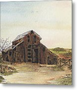Antique Trilogy Hide And Seek Metal Print by Meldra Driscoll