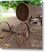 Antique Water Tank - No 1 Metal Print