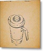 Antique Westinghouse Coffee Maker Patent 1964 Metal Print