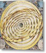 Antique Zodiacal Planetarium Metal Print