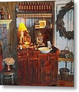 Antiques And Fragrances Metal Print