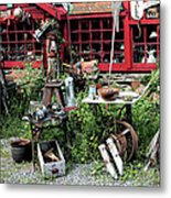 Antiques For Sale Metal Print