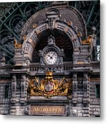 Antwerp Central Metal Print