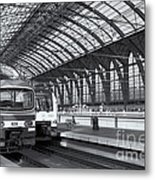 Antwerp Central Station II Metal Print