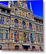Antwerp's City Hall Metal Print