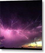 Anvil Crawler Lightning #2 Metal Print
