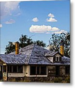Anybody Home Metal Print
