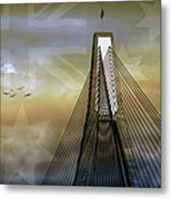 Anzac Bridge Metal Print