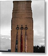 Anzac Day 2014 Auckland Museum Cenotaph Metal Print