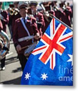 Anzac Day In Perth  Metal Print