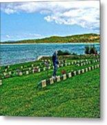 Anzak Cemetery Along The Dardenelles In Gallipolii-turkey Metal Print