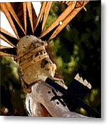 Apache Dancer Metal Print