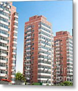 Apartments Building  Metal Print