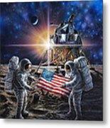 Apollo 11 Metal Print