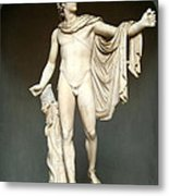 Apollo Belvedere Metal Print