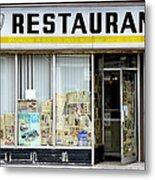 Apollo Eleven Restaurant Metal Print