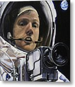 Apollo- For Mankind Metal Print