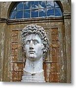 Apollo Statue At The Vatican Metal Print