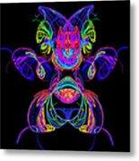 Apophysis Puppy Metal Print