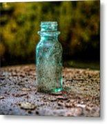 Apothecary Bottle Metal Print