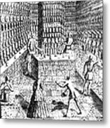 Apothecary Shop, 1688 Metal Print