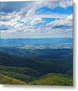 Appalachain Trail View Metal Print