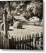 Appalachian Barnyard Metal Print