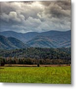 Appalachian Mountain Range Gsmnp Metal Print by Paul Herrmann