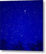 Appalachian Mountain Starry Night Metal Print by Thomas R Fletcher