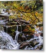 Appalachian Mountain Waterfall Metal Print