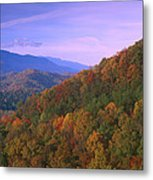 Appalachian Mountains Ablaze  Metal Print