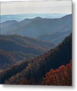 Appalachian Mountains North Carolina Metal Print