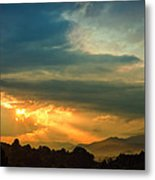 Appalachian Sunset Metal Print by William Schmid