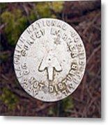 Appalachian Trail Historic Marker Metal Print
