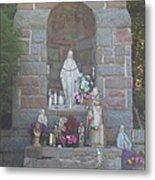Apparition Of Virgin Mary Metal Print